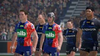 Rugby League Live 4 - Cowboys Career (Auckland 9