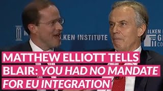 Elliott tells Blair: You need to accept the referendum result