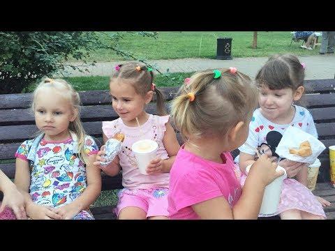 Дети играют на Детской Площадке Алина Алиса и Юляшка балуются Funny kids video Развлечения для детей