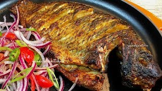 How to make the  tastiest oven grilled Tilapia fish✔