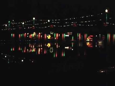 Natchitoches, LA City of Lights Christmas Season 12/12/2012