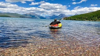 GOING-TO-THE-SUN ROAD in Glacier National Park | Apgar Campground