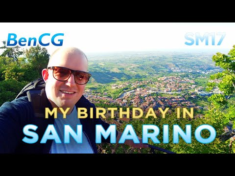 Exploring SAN MARINO on my Birthday! // SM17 ep.2