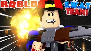 ROBLOX Adventure - ROPO JOINS THE S.W.A.T TEAM!!!