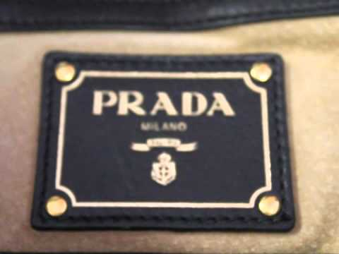 replica prada handbags online - How to Authenticate a Prada Handbag - YouTube