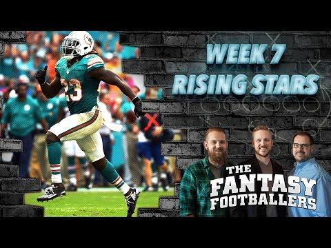 Fantasy Football 2016 - Week 7 Studs, Duds, Rising Stars, Updates - Ep. #292