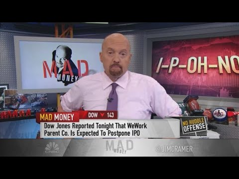 The market could get hammered if Saudi Aramco's IPO isn't priced cheap, Jim Cramer says