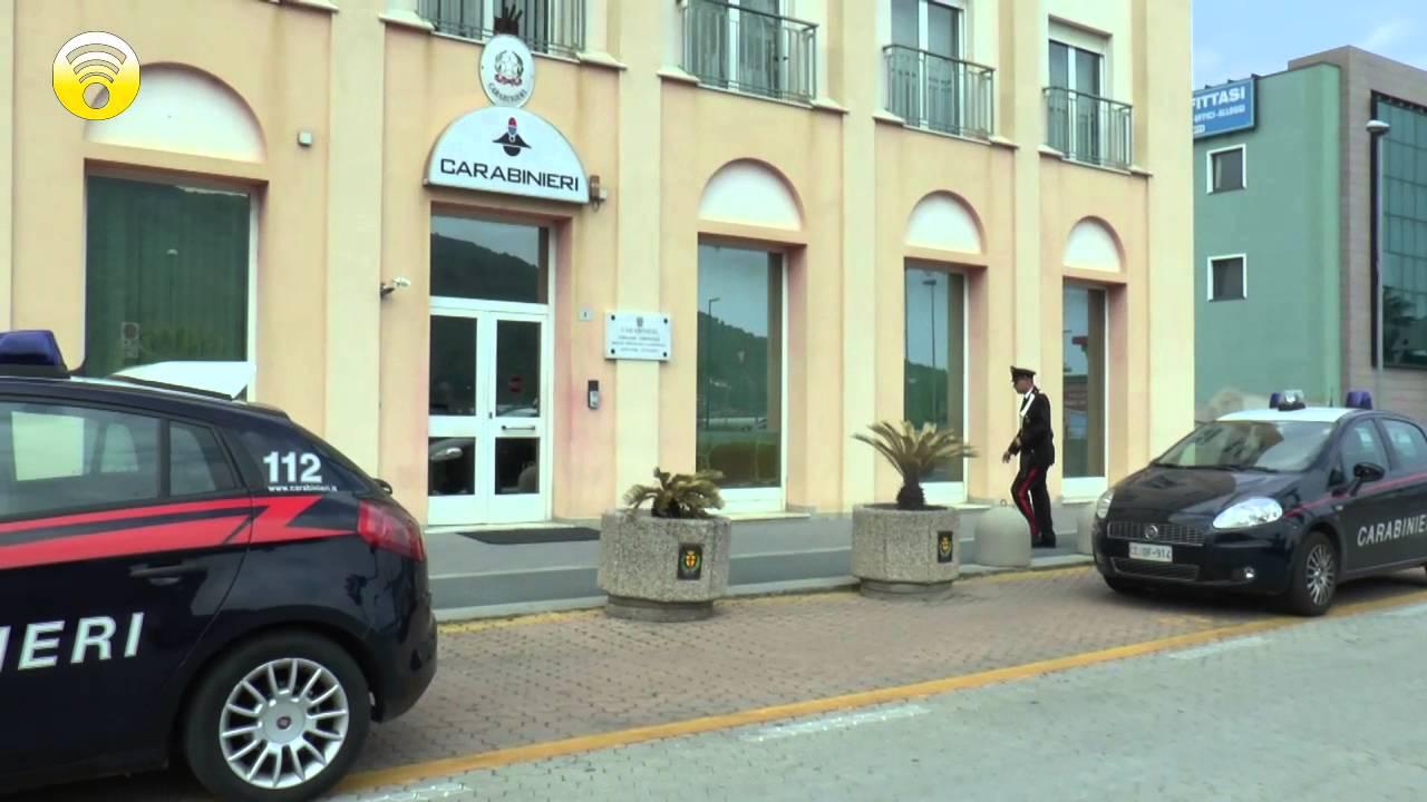 Giornata di intenso lavoro per i Carabinieri di Albenga e le caserme del comprensorio: video #1