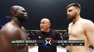 Jairzinho Rozenstruik (Suriname) vs Andrey Kovalev (Ukraine) | MMA Fight HD