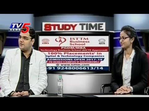 Telecom, IT & Business Management Courses | ISTTM Business School | Study Time | TV5 News