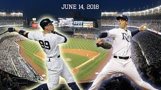 Tampa Bay Rays vs New York Yankees Highlights || June 14, 2018