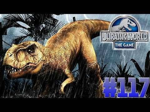 Jurassic Park Gate Trophy!!!-Jurassic World:The Game Ep. #117