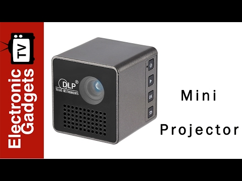 Carry Along Your Own Private Cinema Anywhere You Go With The Cube G1 Mini DLP Projector