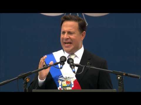 Palabras del Presidente Juan Carlos Varela durante acto de Posesión