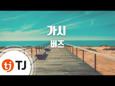[TJ노래방 / 여자키] 가시 - 버즈 (Thorn - Buzz) / TJ Karaoke