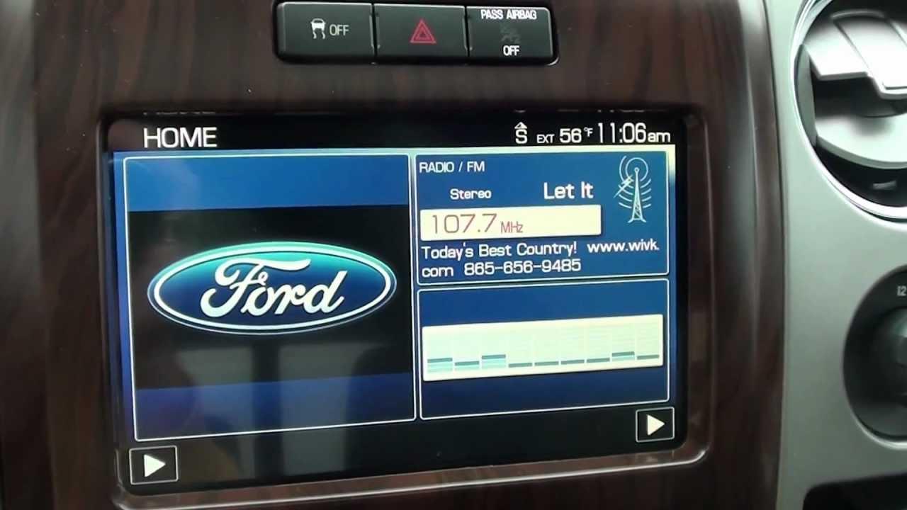 For Sale New  Ford F  Lariat Navigation Stk  Www Lcford Com