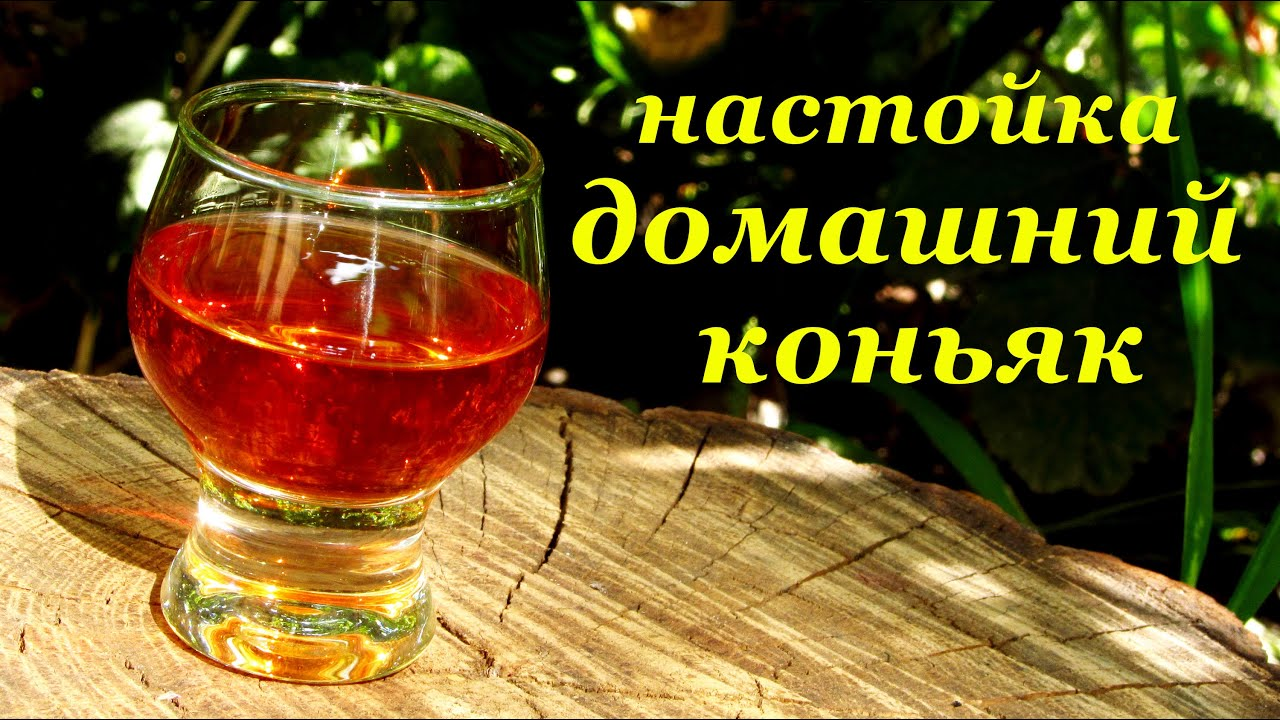 рецепт самодельного коньяка из водки