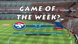 GAME OF THE WEEK? (AFL Live 2)