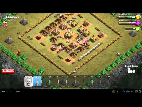 Clash of Clans Gobbotown Strategy Guide & 3 Star Walkthrough