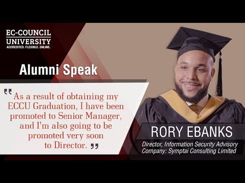 Rory Ebanks | Proud Graduate at Hacker Halted 2018 | EC-Council University