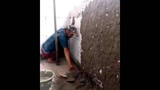 Cara Awal Plester Tembok Herbel Dengan Mudah dan Cepat