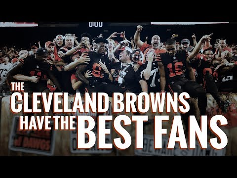 Kelly Sheehan - Here's Why Browns Fans Are The Best Fans Around
