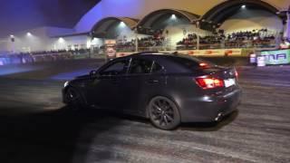 Lexus isf burnout