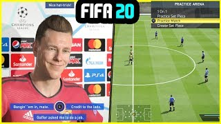 NEW FEATURES WE WANT IN FIFA 20 (Post Match Interviews, Practice Matches & More)