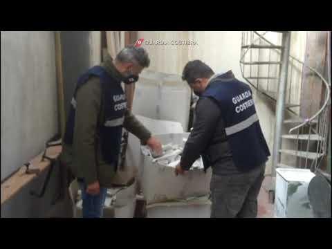 GC Sequestro opificio industriale materie plastiche  Monopoli 18 11 2020