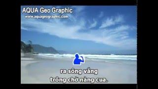 Karaoke [TAN NHAC] Đau xót lý con cua - song ca Xakura