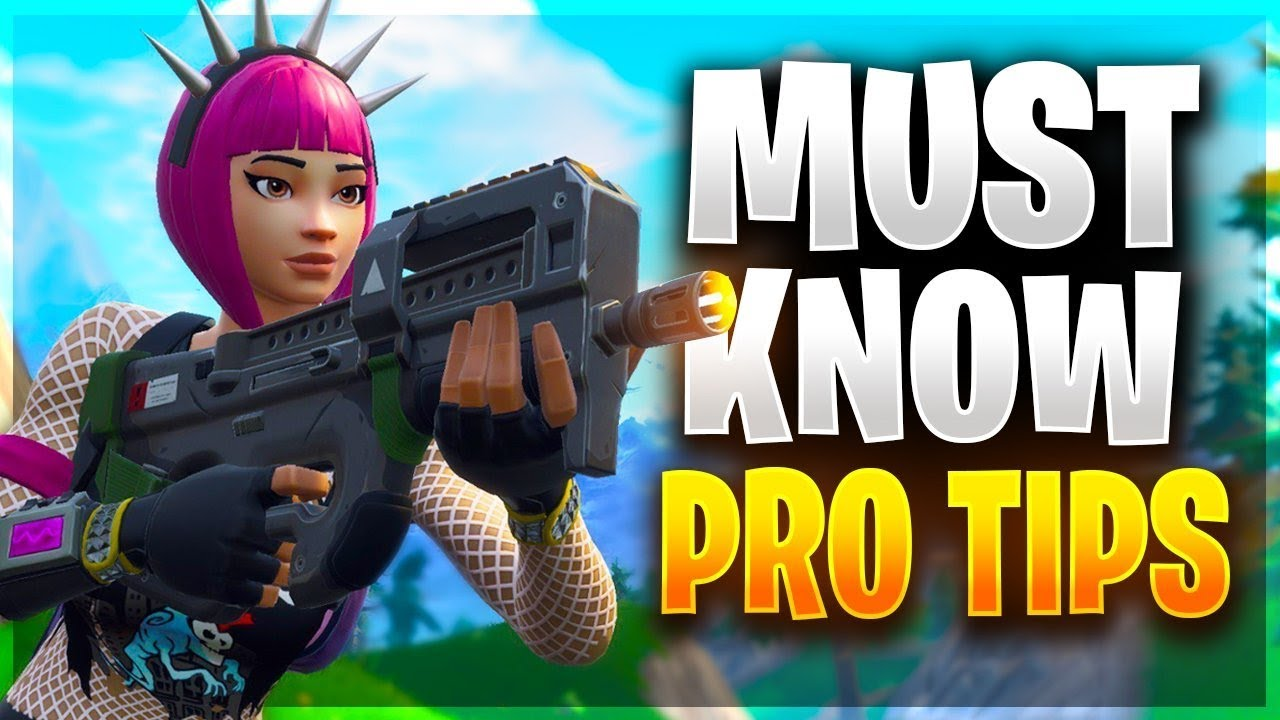 NEW PRO TIPS YOU NEED TO LEARN! (Fortnite Battle Royale)