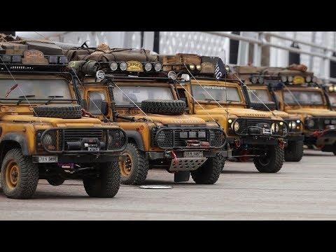 1/10 Scale Land Rover DEFENDER 90/110 Off Road   Camel Trophy In Korea