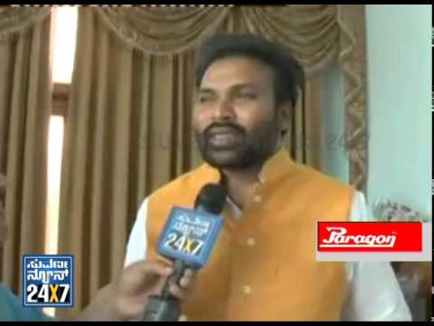 Sreeramulu talk with Suvarna News - News bulletin 20 May 14