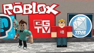 ETHANGAMER TV OLDUM / Roblox Youtuber Tycoon / Roblox Tycoon Türkçe