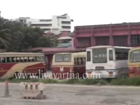 KSRTC bus station Kollam
