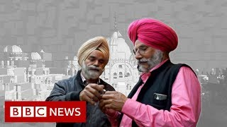 Kartarpur: Temple of hope between India and Pakistan - BBC News