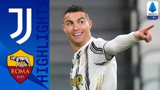 Juventus 2-0 Roma | I bianconeri vincono il big match e salgono al terzo posto | Serie A TIM