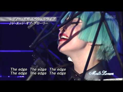 Lady Gaga - Born This Way + The Edge Of Glory (Live At Music Lovers)