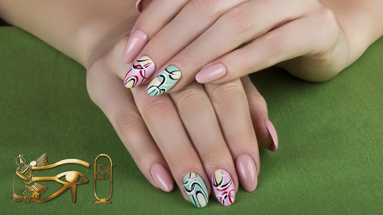 ra nails spring 2015 - graphic