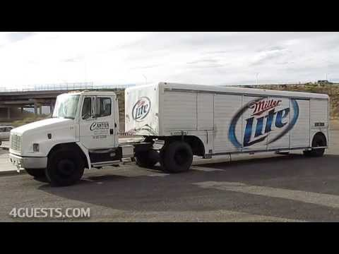 MILLER LITE TRUCK  ~ CANYON DISTRIBUTING / BEER DELIVERY