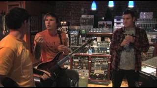 Parkway Drive in the studio 2010