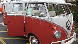 Enjoy a Walk Around an Amazing 1961 23 Window Samba Bus
