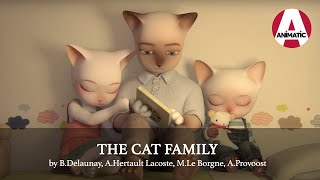 THREE LITTLE CATS  Animation short film  French  Full Movie  CGI 3D  Autour de Minuit
