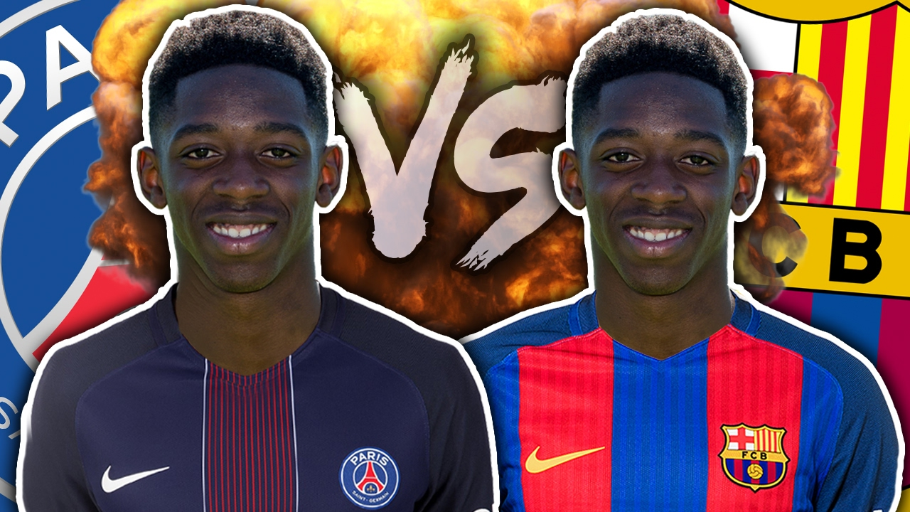 best sneakers 17d24 d6004 PSG & Barcelona Battle To Sign Ousmane Dembele?! | Transfer Talk
