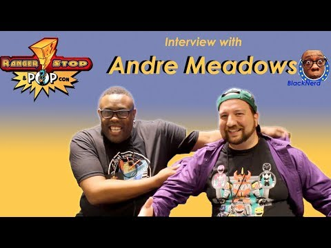 Interview With YouTube Star Andre Meadows From Black Nerd Comedy @ RangerStop And Pop