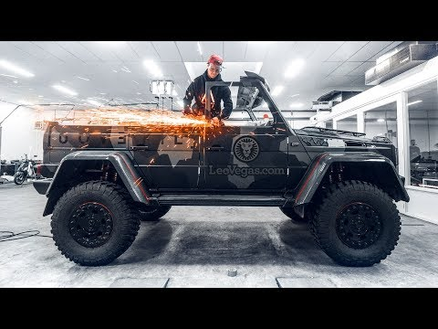 CUTTING THE ROOF OF MY 250 000€ G WAGON! | VLOG² 120