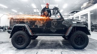 CUTTING THE ROOF OF MY 250 000€ G WAGON!   VLOG² 120