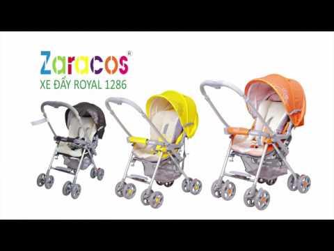 Hướng dẫn sử dụng xe đẩy trẻ em ZARACOS ROYAL 1286