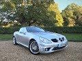 Mercedes-Benz SLK55 AMG For Sale via Apsley Cars, Hampshire