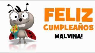 FELIZ CUMPLEAÑOS MALVINA!